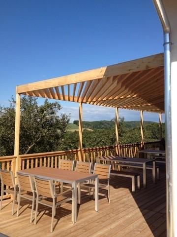terrasse beschattung holzbau gundendorfer. Black Bedroom Furniture Sets. Home Design Ideas