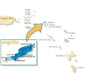 Karte Anguilla