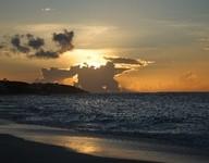 Anguilla Sonnenugntergang