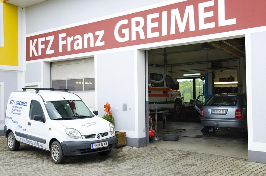 kfz und reifenhandel service reparatur franz greimel in. Black Bedroom Furniture Sets. Home Design Ideas