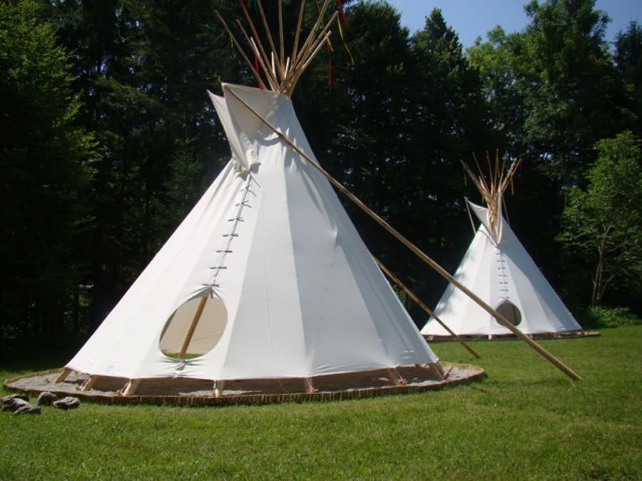 tipi west in scharnstein camping beherbergung sport freizeit. Black Bedroom Furniture Sets. Home Design Ideas