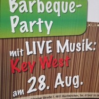 BARBEQUE-PARTY mit LIVE Musik am  Donnerstag, 28.8.2014     ab 18 Uhr!!   Im VZ-Buchkirchen geht es wieder rund... Wir feiern eine Barbeque-Party wo wir für unsere Gäste grillen und frische sommerlich