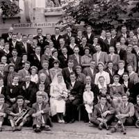 Hochzeitsgesellschaft   Fam. Luftensteiner Efrem   1960