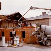 Neubau des Gasthauses im Jahr 1981 (3)