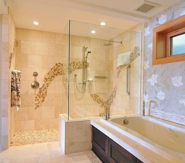 dusche fliesen mit geflle ~ kreatives haus design, Wohnzimmer design