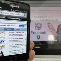 QR Code Display Freistadt