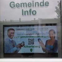 QR Code Display Allhartsberg