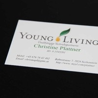 Visitenkarten - Young Living - Plattner - www.myyl.com/plattner