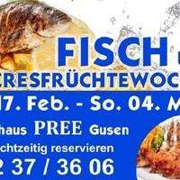 Fisch  und Meeresfrüchtewochen 2018