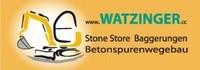 Watzinger Stone Store, Baggerungen, Betonspurwegbau