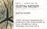 Sägewerk - Hobelwerk - Holzfachmarkt GUSTAV MOSER
