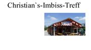 Christian's - Imbiss - Treff