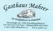 Gasthaus Mahrer