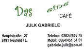 Das kleine Cafè - Inh. Gabriele Julk