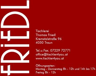 Tischlerei FRIEDL Thomas