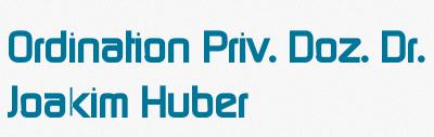 Priv.-Doz. Dr. Joakim Huber - Facharzt für Innere Medizin, Stoffwechsel und Geriatrie