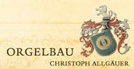 Christoph Allgäuer Orgelbau - Pipeorganbuilder