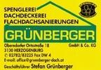 Spenglerei Dachdeckerei GRÜNBERGER GesmbH & Co KG