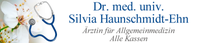 Dr. med. univ. Silvia Haunschmidt-Ehn, Ärztin für Allgemeinmedizin in Freistadt, Alle Kassen.