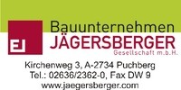 Bauunternehmen Jägersberger GmbH.