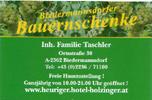 Hotel Holzinger Betriebs GmbH & Co KG - Biedermannsdorfer Bauernschenke
