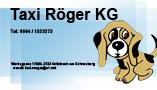 Taxi Röger KG