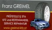 Kfz und Reifenhandel Service - Reparatur Franz Greimel