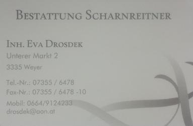 Bestattung Scharnreitner
