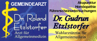 Dr. Roland Etzlstorfer - Arzt für Allgemeinmedizin und Dr. Gudrun Etzlstorfer - Wahlärztin für Allgemeinmedizin in St. Oswald bei Freistadt.