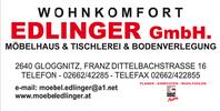 Möbelhaus & Tischlerei & Bodenverlegung EDLINGER GMBH
