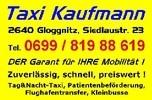 Taxi - & Mietwagenunternehmen Wolfgang Kaufmann