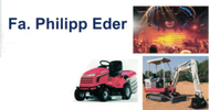 Fa. Philipp Eder Veranstaltungstechnik - Minibaggerarbeiten - Hausbetreuung