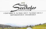 Gasthof Seelhofer