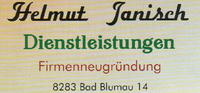 Helmut Janisch Dienstleistungen