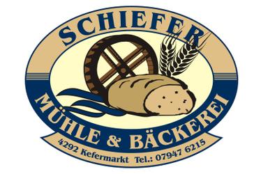 """Bäckerei-Mühle, E-Werk """"Klammühle"""", SCHIEFER MAX in Kefermarkt bei Freistadt."""