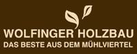 WOLFINGER Holzbau, Zimmerei, Leimbau, Blockhausbau, Fertighaus, Riegelhaus, Wintergarten, Carport und Innenausbau in Tragwein im Bezirk Freistadt.