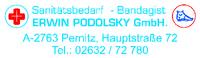 Erwin Podolsky GmbH Sanitätsbedarf - Bandagist