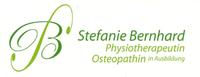 Stefanie Bernhard Physiotherapeutin Osteopathin