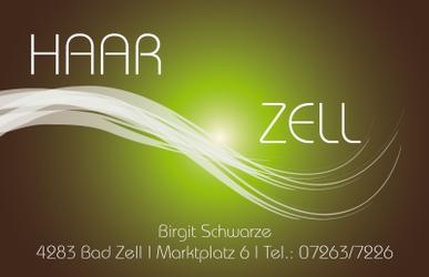 HAAR-ZELL, Inh. Birgit Schwarze. Ihr Friseur in Bad Zell im Bezirk Freistadt.
