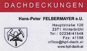 Dachdeckerei Hans-Peter Felbermayer
