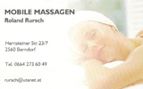 Mobile Massage - Roland Rursch