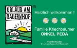 Ferienhof KRIECHBAUMER, Urlaub am Bauernhof und Reiterherberge ONKEL PEDA in Schönau im Bezirk Freistadt.