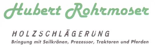 Holzhandel und Schlägerung Rohrmoser Hubert