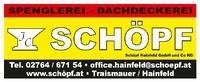 Schöpf Hainfeld (Schöpf Hainfeld GmbH & Co KG)