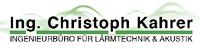 Ing. Christoph Kahrer - Ingenieurbüro für Lärmtechnik & Akustik