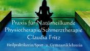 Praxis für Naturheilkunde und Physiotherapie Claudia Fritz | Heilpraktikerin / Sport- u. Gymnastiklehrerin