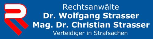 Rechtsanwälte Dr. Wolfgang Strasser, Mag. Dr. Christian Strasser, Verteidiger in Strafsachen