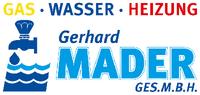 Gerhard MADER GmbH, Gas-Wasser-Heizung