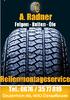 A. Radner Felgen - Reifen - Öle