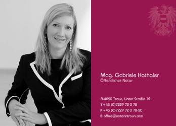 Notariat Mag. Gabriele Hathaler